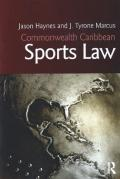 Cover of Commonwealth Caribbean Sports Law