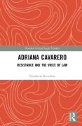 Cover of Adriana Cavarero: Resistance and the Voice of Law