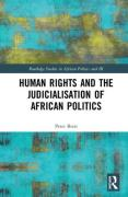 Cover of Human Rights and the Judicialisation of African Politics