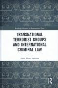 Cover of Transnational Terrorist Groups and International Criminal Law