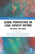 Cover of Global Perspectives on Legal Capacity Reform: Our Voices, Our Stories