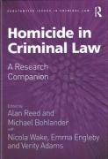 Cover of Homicide in Criminal Law: A Research Companion