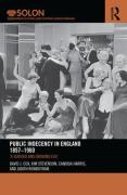 Cover of Public Indecency in England 1857-1960: 'A Serious and Growing Evil'