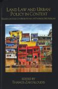Cover of Land Law and Urban Policy in Context: Essays on the Contributions of Patrick McAuslan