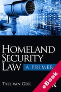 Cover of Homeland Security Law: A Primer (eBook)