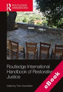 Cover of Routledge International Handbook of Restorative Justice (eBook)