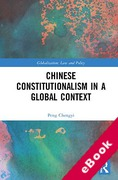Cover of Chinese Constitutionalism in a Global Context (eBook)