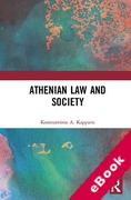 Cover of Athenian Law and Society (eBook)