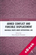 Cover of International Law and the Rights of those Displaced by Armed Conflict (eBook)