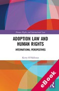 Cover of Adoption Law and Human Rights: International Perspectives (eBook)