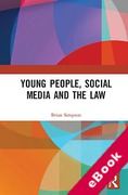 Cover of Young People, Social Media and the Law (eBook)