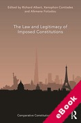 Cover of The Law and Legitimacy of Imposed Constitutions (eBook)
