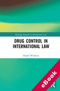 Cover of Drug Control in International Law (eBook)