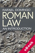Cover of Roman Law: An Introduction (eBook)