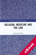 Cover of Religion, Medicine and the Law (eBook)