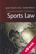 Cover of Commonwealth Caribbean Sports Law (eBook)