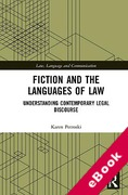 Cover of Fiction and the Languages of Law: Understanding Contemporary Legal Discourse (eBook)