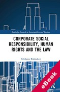 Cover of Corporate Social Responsibility, Human Rights and the Law (eBook)