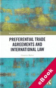 Cover of Preferential Trade Agreements and International Law (eBook)
