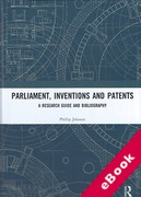 Cover of Parliament, Inventions and Patents: A Research Guide and Bibliography (eBook)