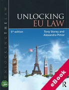 Cover of Unlocking EU Law (eBook)