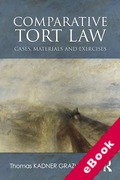Cover of Comparative Tort Law: Cases, Materials, and Exercises (eBook)