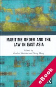 Cover of Maritime Order and the Law in East Asia (eBook)