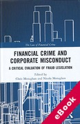 Cover of Financial Crime and Corporate Misconduct: A Critical Evaluation of  Fraud Legislation (eBook)