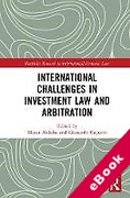 Cover of International Challenges in Investment Arbitration (eBook)