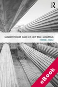 Cover of Contemporary Issues in Law and Economics (eBook)