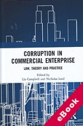 Cover of Corruption in Commercial Enterprise: Law, Theory and Practice (eBook)