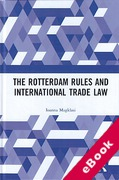 Cover of The Rotterdam Rules and International Trade Law (eBook)