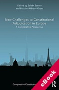 Cover of New Challenges to Constitutional Adjudication in Europe (eBook)