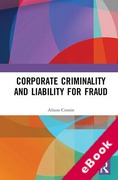 Cover of Corporate Criminality and Liability for Fraud (eBook)