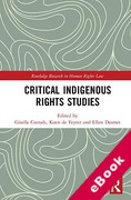 Cover of Critical Indigenous Rights Studies (eBook)