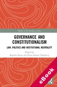 Cover of Governance and Constitutionalism: Law, Politics and Institutional Neutrality (eBook)
