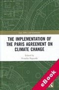 Cover of Implementation of the 2015 Paris Agreement on Climate Change (eBook)