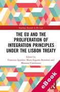 Cover of The EU and the Proliferation of Integration Principles Under the Lisbon Treaty (eBook)