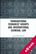 Cover of Transnational Terrorist Groups and International Criminal Law (eBook)