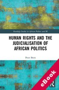 Cover of Human Rights and the Judicialisation of African Politics (eBook)