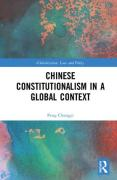 Cover of Chinese Constitutionalism in a Global Context