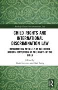 Cover of Child Rights and International Discrimination Law: Implementing Article 2 of the United Nations Convention on the Rights of the Child