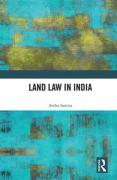 Cover of Land Law in India