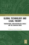 Cover of Global Technology and Legal Theory: Transnational Constitutionalism, Google and the European Union