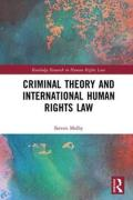Cover of Criminal Theory and International Human Rights Law