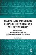 Cover of Reconciling Indigenous Peoples' Individual and Collective Rights: Participation, Prior Consultation and Self-Determination in Latin America