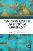 Cover of Transitional Justice in Law, History and Anthropology