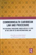 Cover of Commonwealth Caribbean Law and Procedure: The Referral Procedure under Article 214 RTC in the Light of EU and International Law