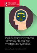 Cover of The Routledge International Handbook of Legal and Investigative Psychology