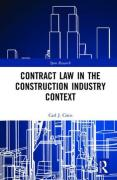 Cover of Contract Law in the Construction Industry Context